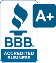 Treblaw, LLC accredited by BBB rating A+